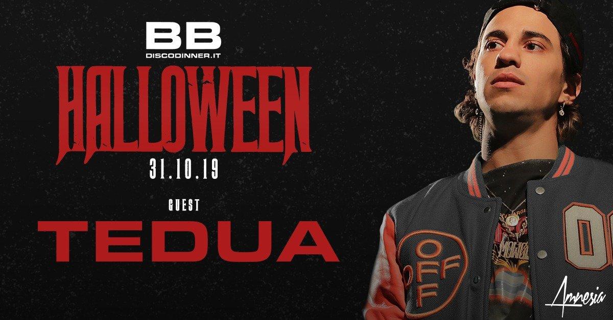 Tedua guest Halloween 2019 BB Disco Dinner