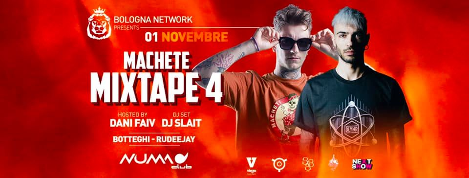 Machete Mixtape 4 Tour Numa Club Bologna