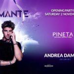 Andrea Damante guest dj Pineta Milano Marittima