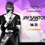 Jay Santos discoteca Gattopardo