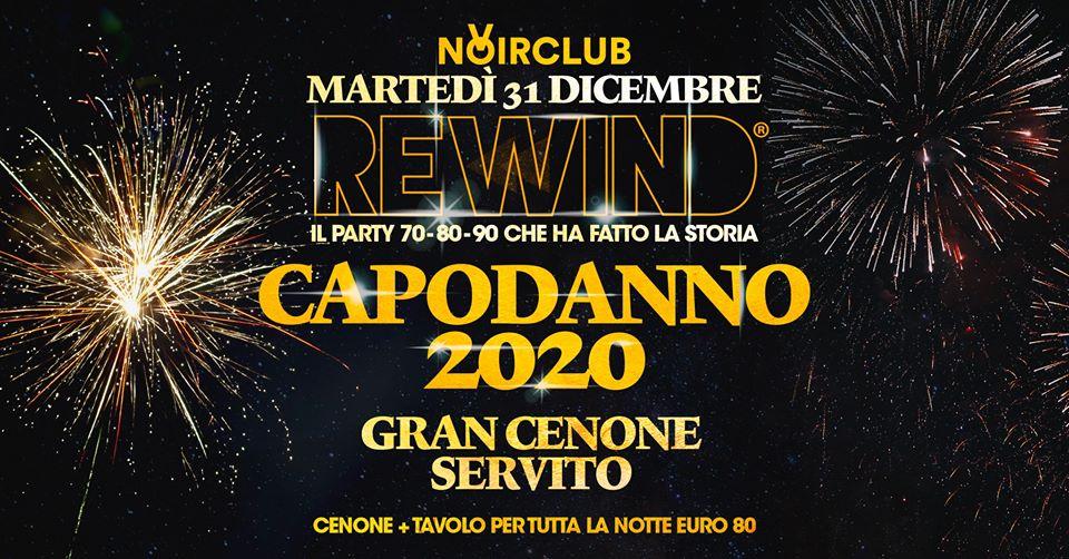 Capodanno Rewind 2020 Noir Club Jesi