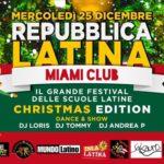 Repubblica Latina Christmas Edition Miami Club Monsano