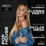 Closing Party con Taylor Mega Pineta Club Milano Marittima