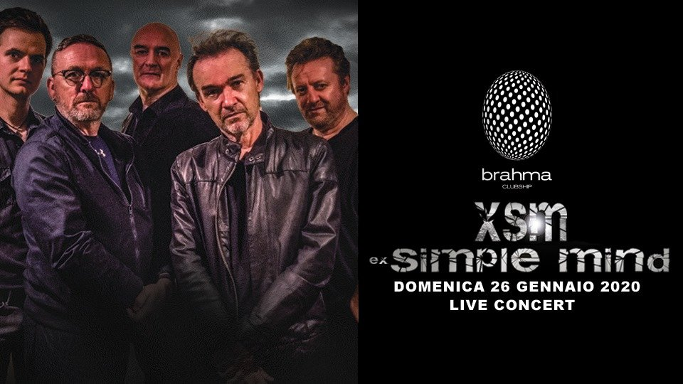 XSM ex Simple Mind in concerto Brahma Civitanova Marche