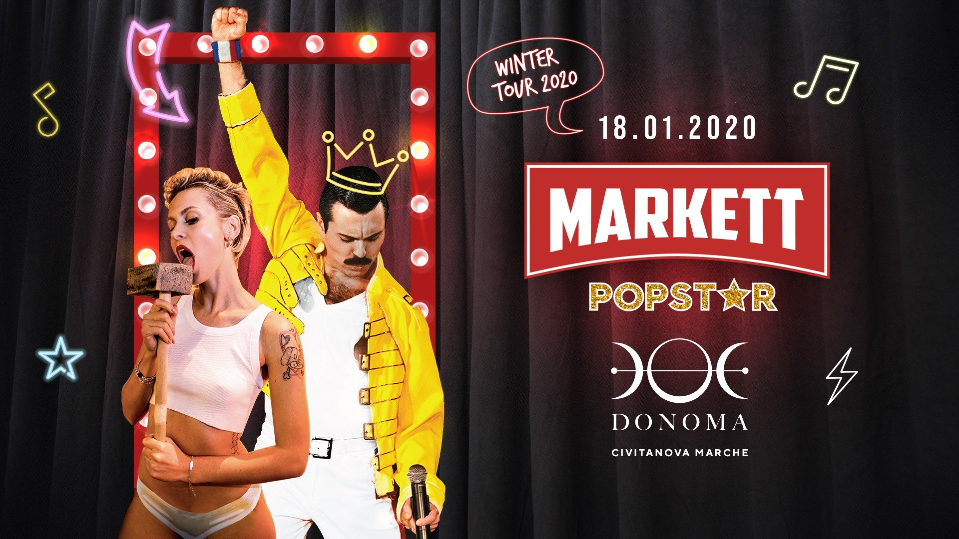 Markett Popstar Donoma Club