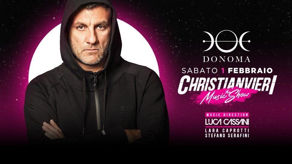 Christian Vieri The Music Show Donoma Club Civitanova Marche