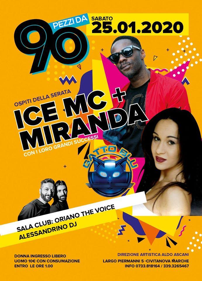 Ice Mc e Miranda guest Gatto Blu Civitanova Marche