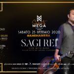 Sagi Rei guest Megà Disco Dinner Pescara