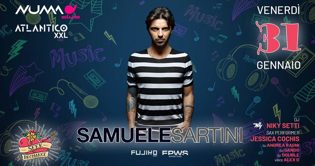 Samuele Sartini guest dj Numa Club Bologna