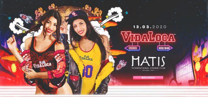 Matis Club Bologna Vida Loca post Festa della Donna