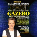 Gazebo al Rewind del Miami Club di Monsano