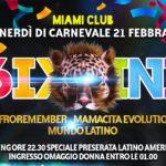 Venerdì di Carnevale al Miami Club di Monsano