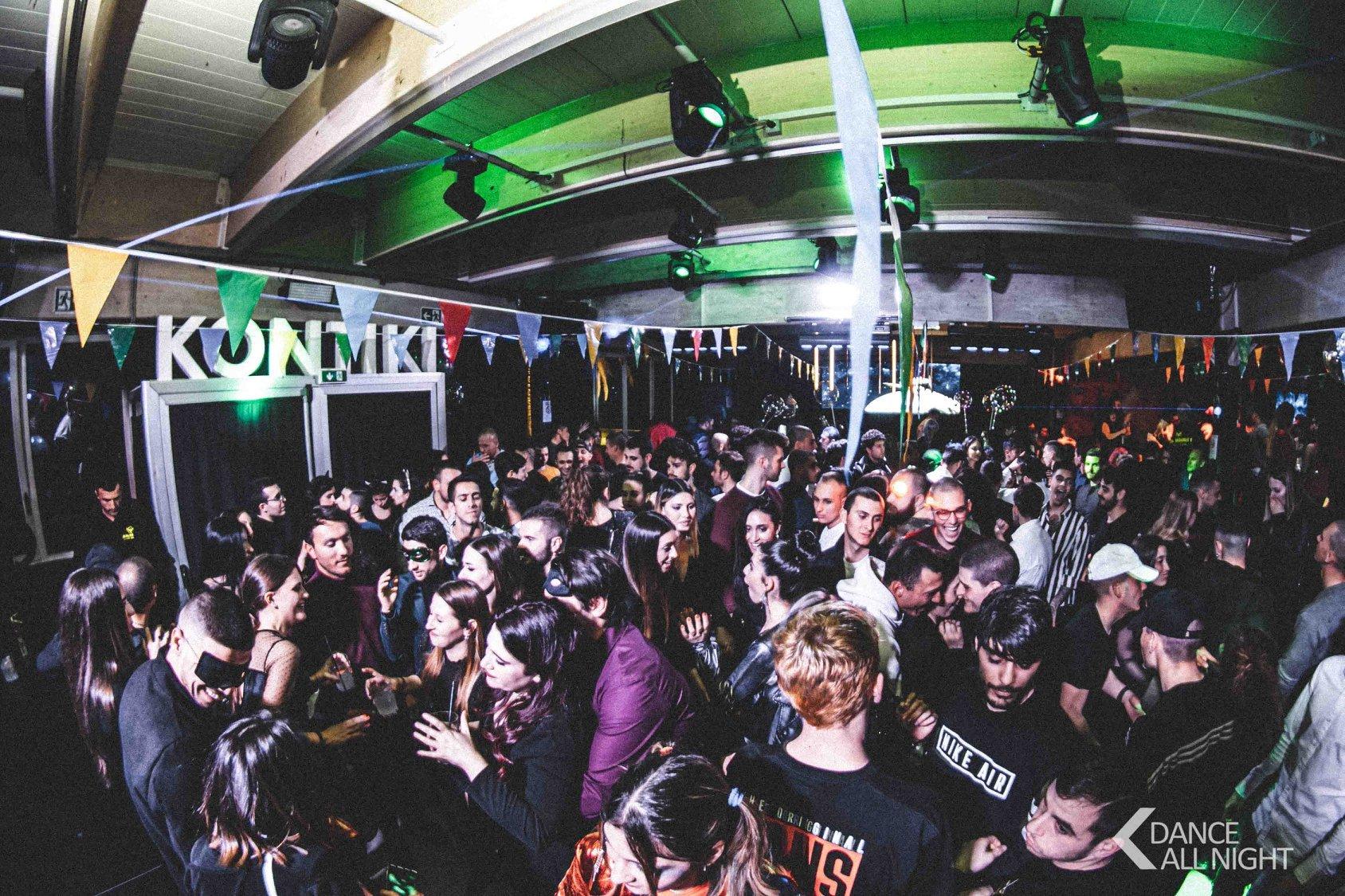 Kontiki Club ultimo Dance All Night di marzo