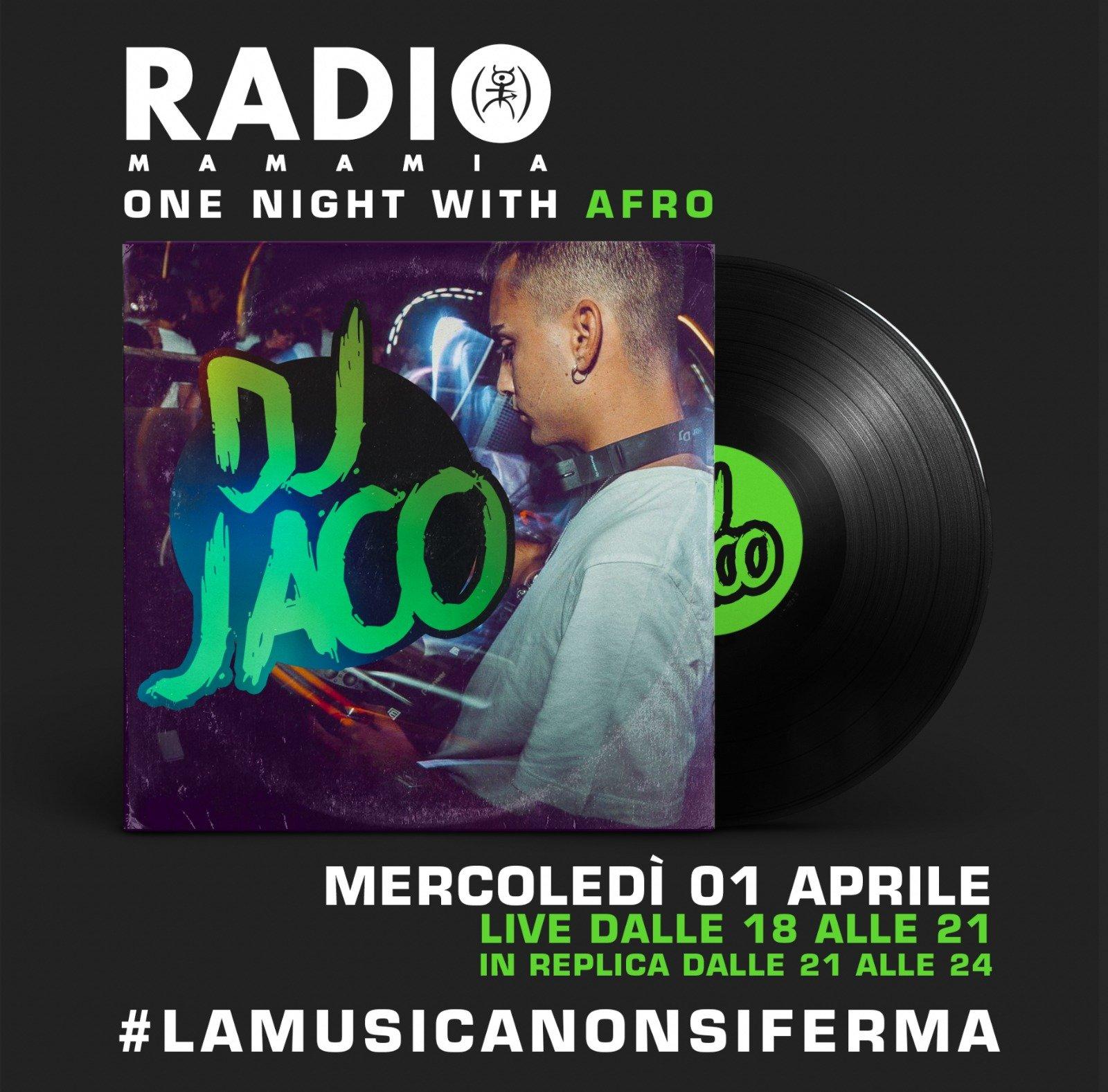 Jaco dj Radio Mamamia