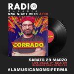 Corrado dj Radio Mamamia
