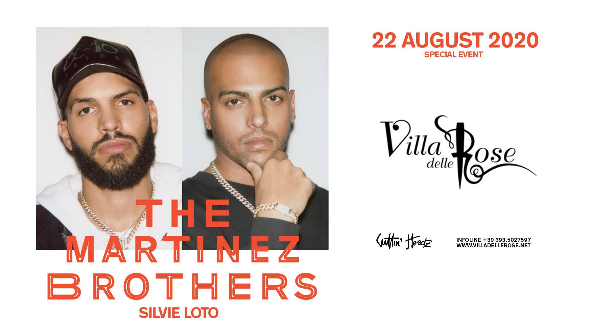 Villa delle Rose Riccione, The Martinez Brothers guest