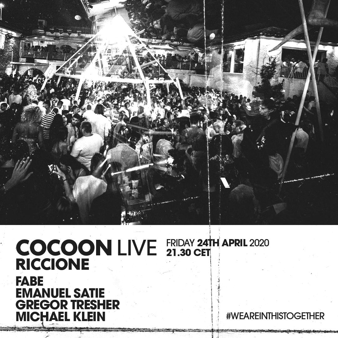 Cocoon live Riccione Facebook e Instagram Page Peter Pan Club