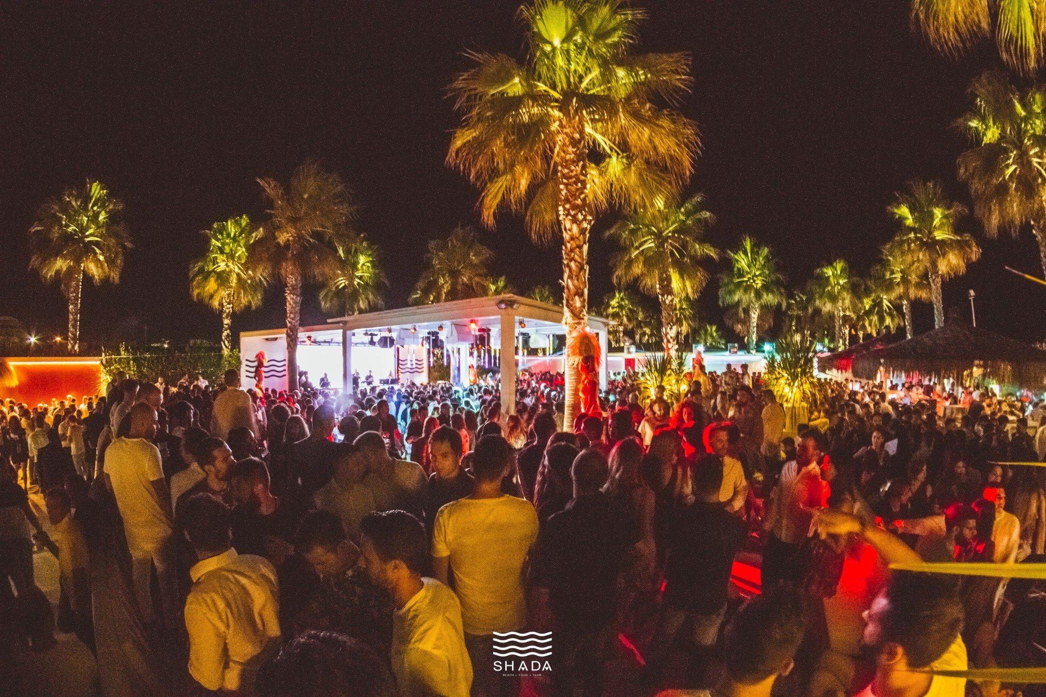 Shada Beach Club primo evento di Agosto 2020