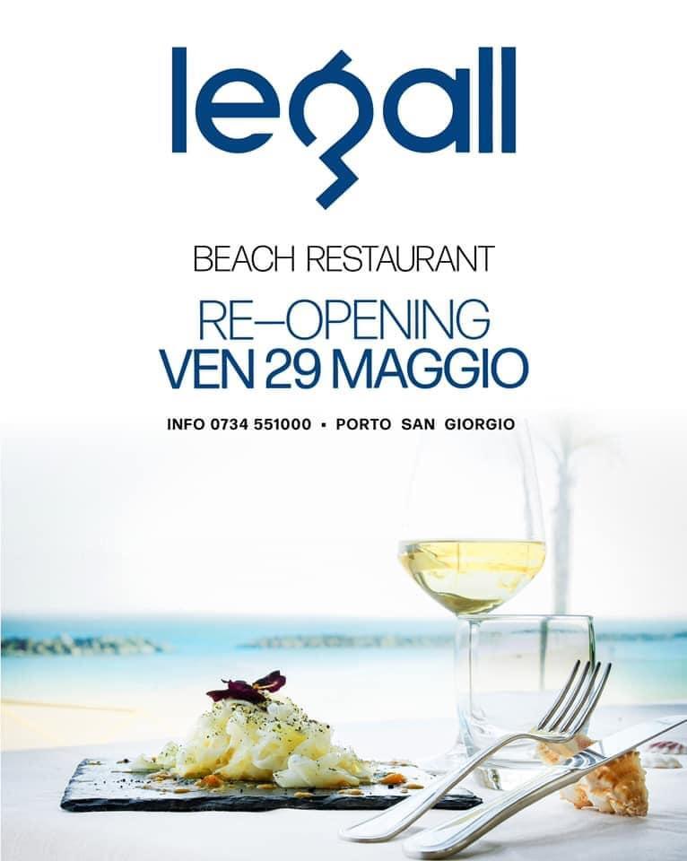 Riapertura ristorante Le Gall Porto San Giorgio