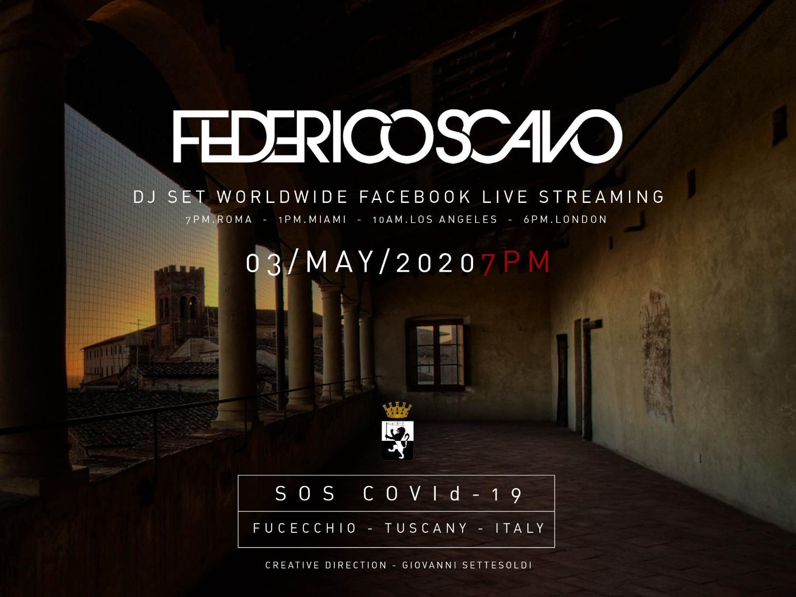 Federico Scavo live streaming pagina Facebook Instagram Numa Bologna