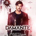 Andrea Damante guest dj alla Discoteca Pineta