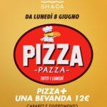 Inaugurazione Lunedì Pizza Pazza dello Shada di Civitanova