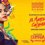 Shada Civitanova Marche, El Martes Caliente Opening Party Summer 2020