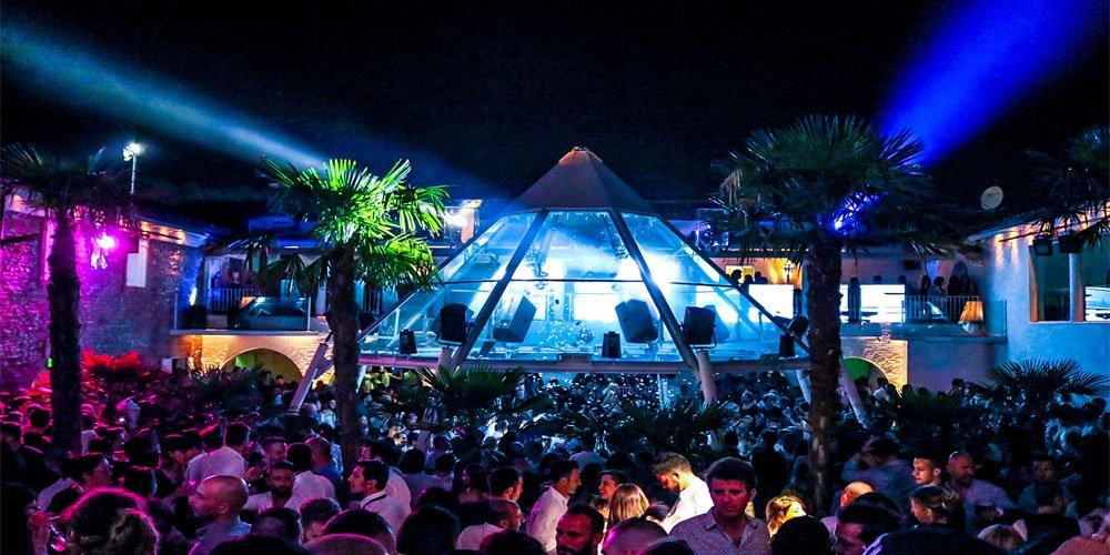 Villa delle Rose discoteca Riccione, ultimo Venerdì di Agosto 2020