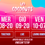 Discoteca Coconuts Rimini, Together Night
