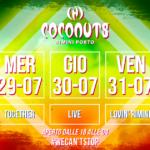 Mauro Catalini e Corrado Alunni al Coconuts di Rimini
