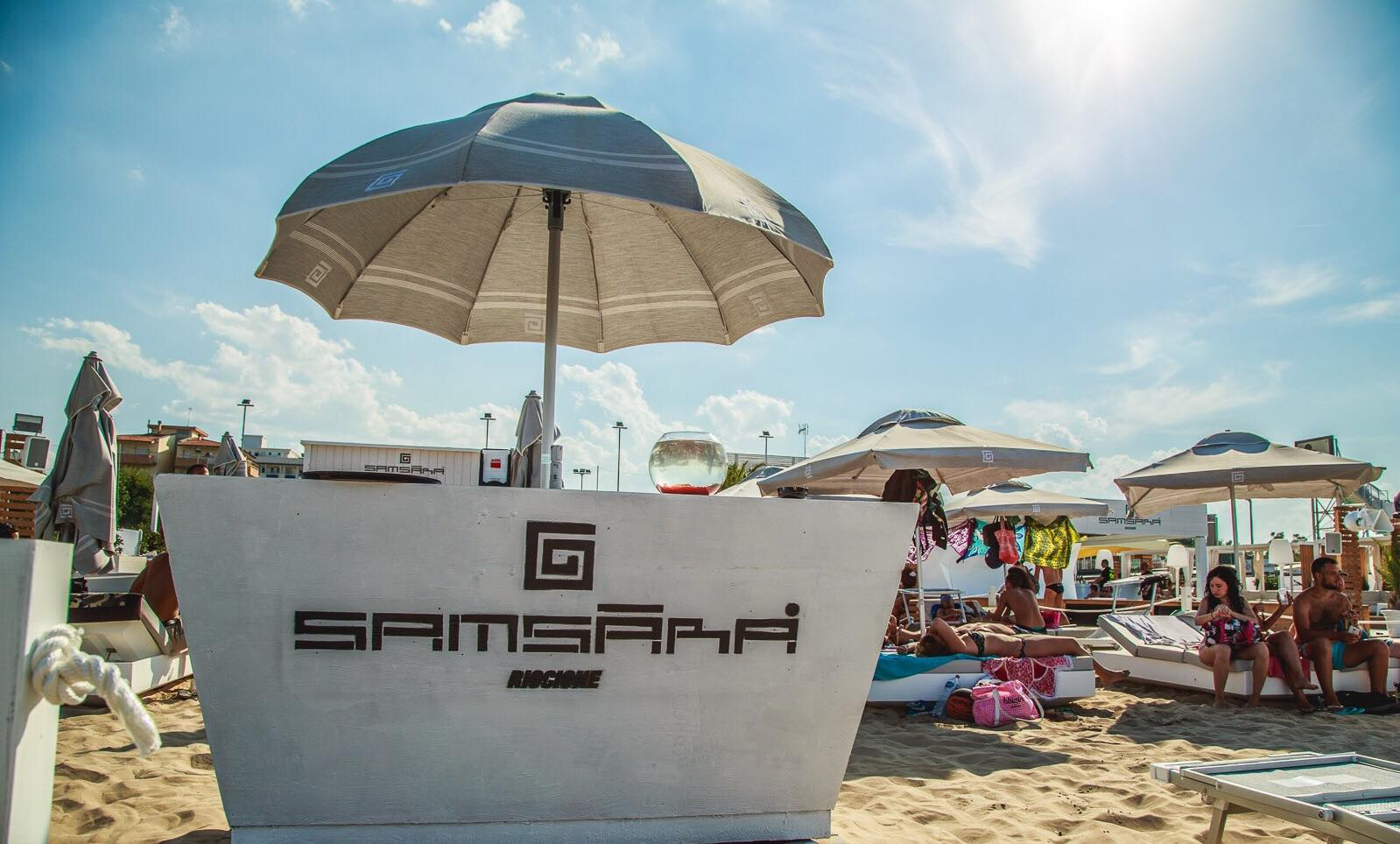 Samsara Beach Riccione, evento post Ferragosto 2020