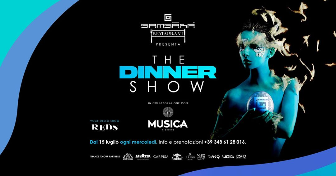 The Dinner Show Samsara Riccione