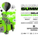 Samsara Beach Riccione, guest djs Mazay e Debla