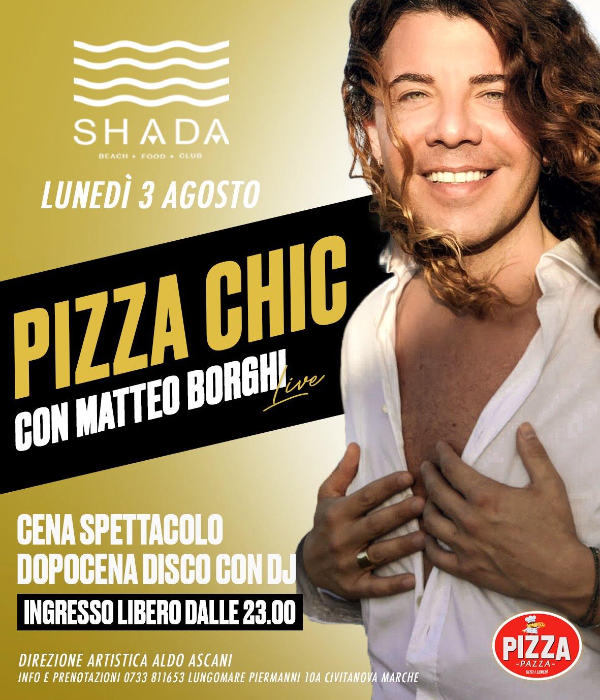 Matteo Borghi allo Shada di Civitanova Marche