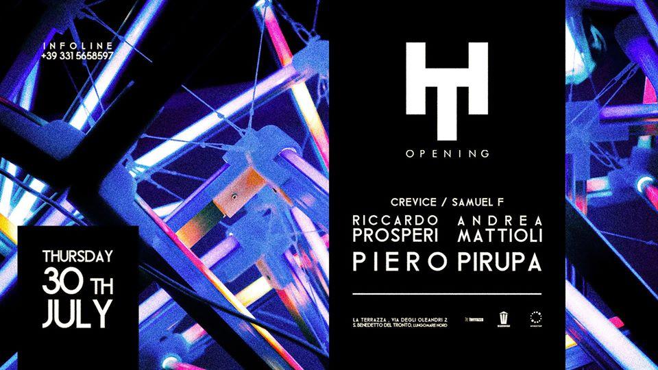 La Terrazza San Benedetto Del Tronto, Houseterrace Opening Party