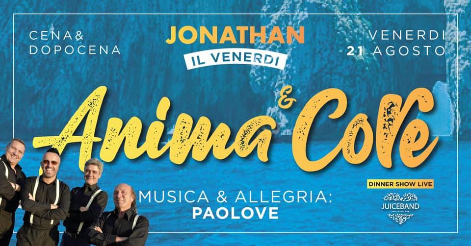 Jonathan Disco Beach San Benedetto Del Tronto, Anema & Core post Ferragosto