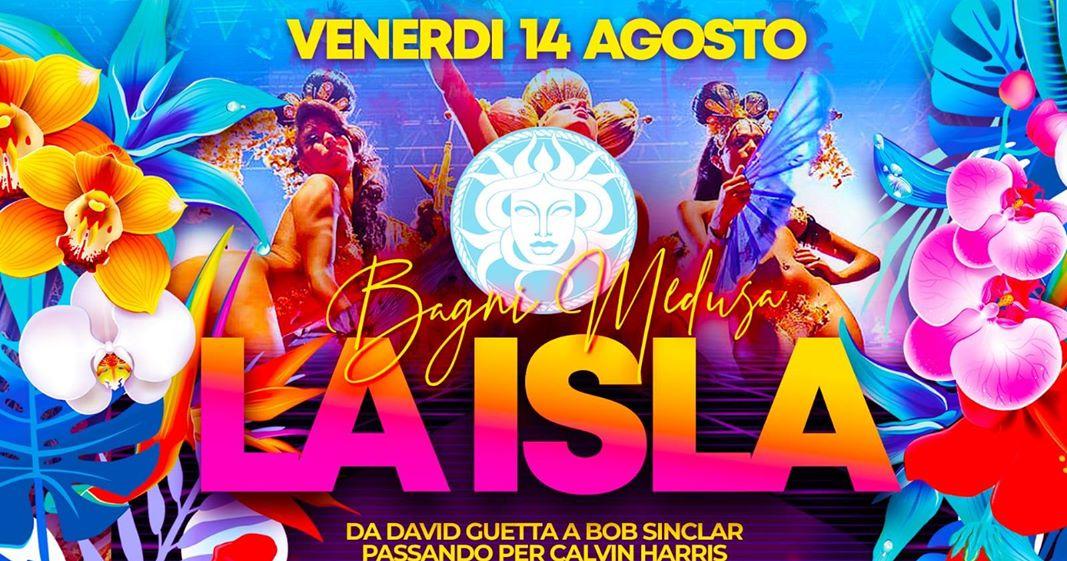 La Isla, il ferragosto Medusa a San Benedetto Del Tronto