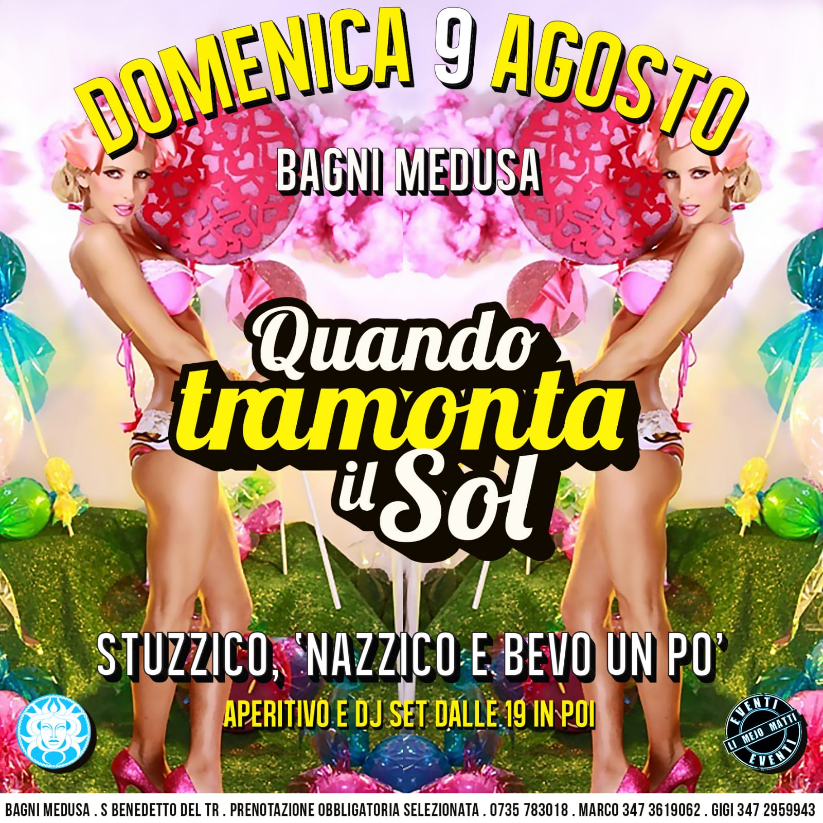 Bagni Medusa San Benedetto Del Tronto, Latin Power special guest