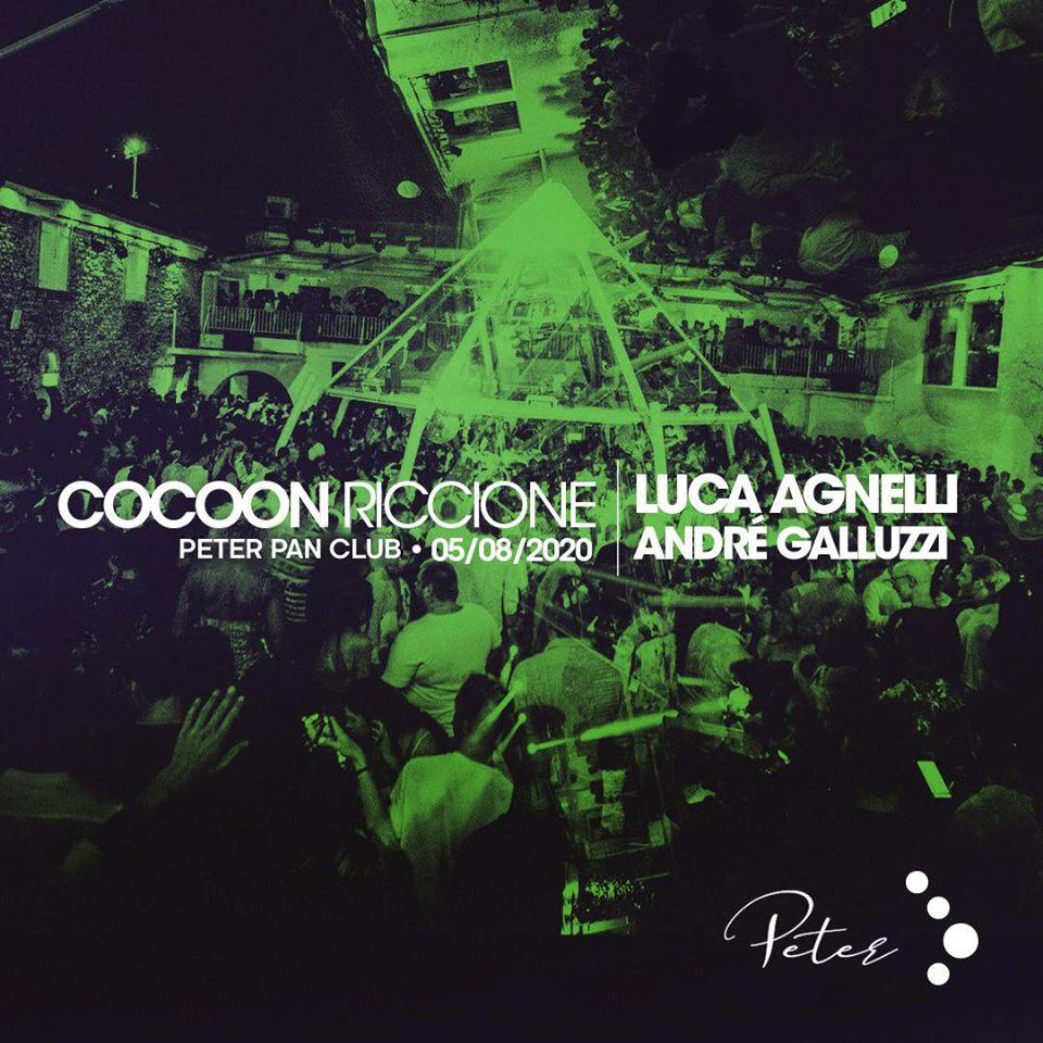 Cocoon Party al Peter Pan di Riccione