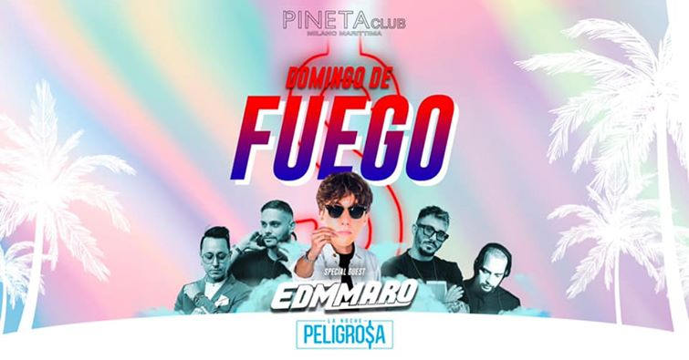 Pineta Milano Marittima Discoteca, Domingo De Fuego