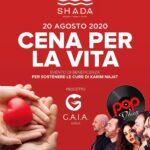 Shada Civitanova Marche, cena per la vita