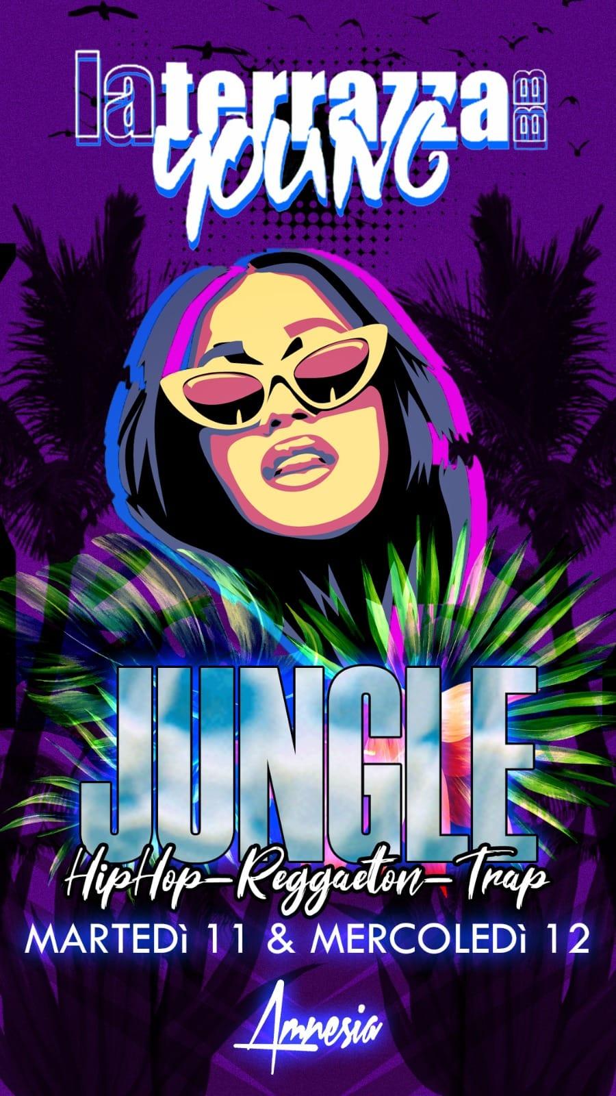 Jungle Night alla discoteca La Terrazza di San Benedetto Del Tronto