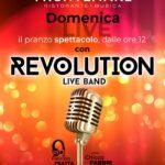 Il pranzo spettacolo con Revolution live band al Frontemare di Rimini