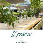 Il pranzo al Ristorante La Serra di Civitanova Marche