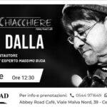 Abbey Road Music Club Cervia pranzo in musichiacchiere Lucio Dalla