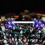 La Terrazza Club Restaurant, Opening Party