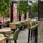 Il pranzo spettacolo a La Serra ristorante di Civitanova Marche