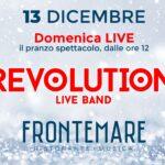 Re Opening Frontemare Rimini, pranzo spettacolo con i Revolution
