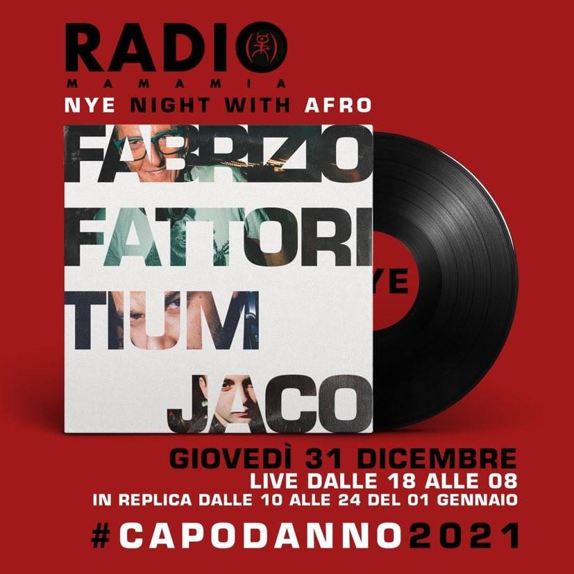Capodanno Radio Mamamia, dj Fabrizio Fattori, Tium e Jaco