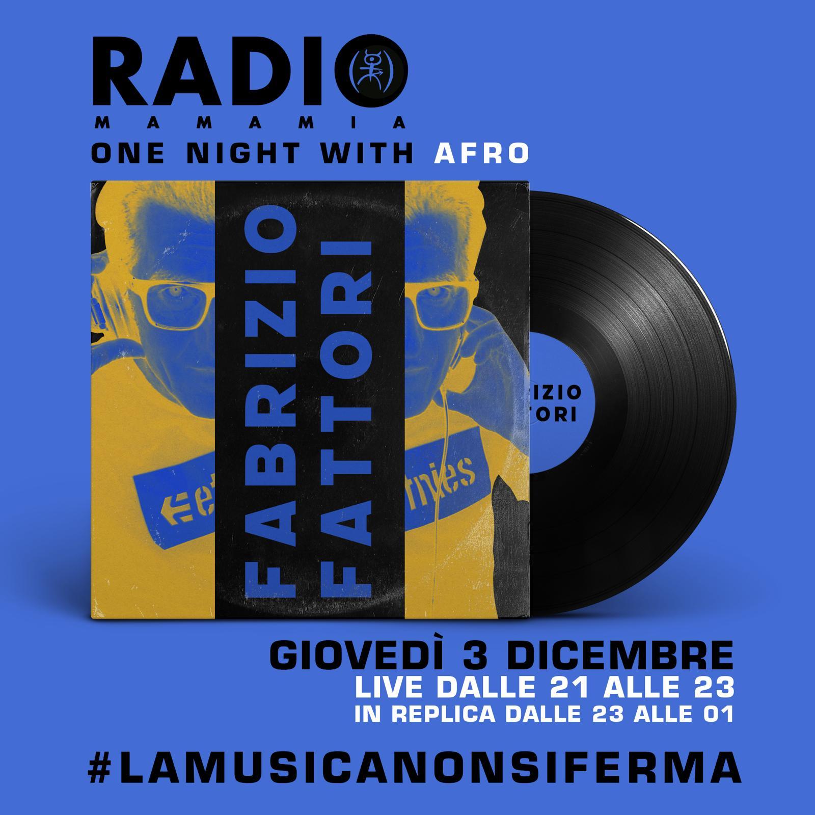 Torna Radio Mamamia, dj Fabrizio Fattori